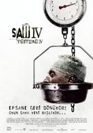 Saw IV - Turkish Movie Poster (xs thumbnail)