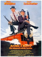 Tough Guys - German Movie Poster (xs thumbnail)