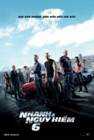 Furious 6 - Vietnamese Movie Poster (xs thumbnail)