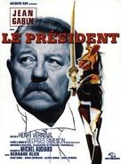 Le président - French Movie Poster (xs thumbnail)