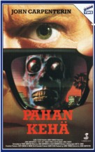 They Live - Finnish VHS movie cover (xs thumbnail)