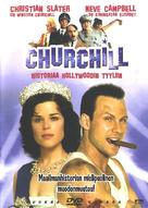 Churchill: The Hollywood Years - Finnish DVD movie cover (xs thumbnail)