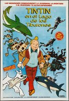 Tintin et le lac aux requins - Argentinian Movie Poster (xs thumbnail)
