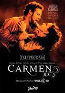 Carmen 3D - Croatian Movie Poster (xs thumbnail)