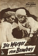The Stranglers of Bombay - German poster (xs thumbnail)