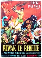 The Barbarians - French Movie Poster (xs thumbnail)