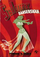 Salome Where She Danced - Swedish Movie Poster (xs thumbnail)