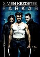 X-Men Origins: Wolverine - Hungarian Movie Cover (xs thumbnail)