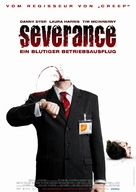 Severance - German Movie Poster (xs thumbnail)