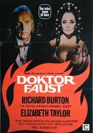 Doctor Faustus - Swedish Movie Poster (xs thumbnail)