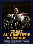 Assassinio al cimitero etrusco - French Movie Poster (xs thumbnail)