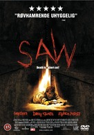 Saw - Danish DVD movie cover (xs thumbnail)