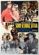 Dodge City - Yugoslav Movie Poster (xs thumbnail)