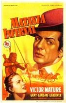 Fury at Furnace Creek - Spanish Movie Poster (xs thumbnail)