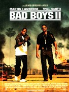 Bad Boys II - French Movie Poster (xs thumbnail)