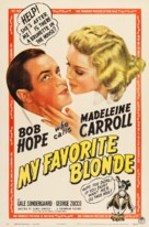 My Favorite Blonde - Movie Poster (xs thumbnail)