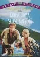 Six Days Seven Nights - Finnish DVD cover (xs thumbnail)
