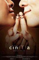 Cin(T)a - Indonesian Movie Poster (xs thumbnail)