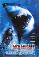 Deep Blue Sea - Movie Poster (xs thumbnail)