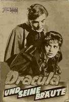 The Brides of Dracula - German poster (xs thumbnail)