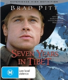 Seven Years In Tibet - Australian Blu-Ray cover (xs thumbnail)