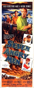 Seven Angry Men - Movie Poster (xs thumbnail)