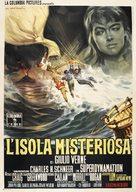 Mysterious Island - Italian Movie Poster (xs thumbnail)