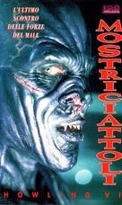 Howling VI: The Freaks - Italian VHS movie cover (xs thumbnail)