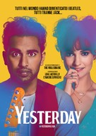Yesterday - Swiss Movie Poster (xs thumbnail)