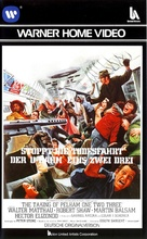 The Taking of Pelham One Two Three - German VHS movie cover (xs thumbnail)