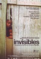 Invisibles - Spanish Movie Poster (xs thumbnail)
