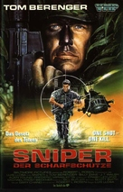 Sniper - German VHS movie cover (xs thumbnail)