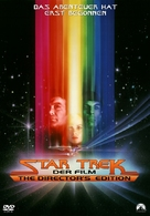 Star Trek: The Motion Picture - German DVD movie cover (xs thumbnail)