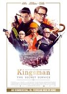 Kingsman: The Secret Service - German Movie Poster (xs thumbnail)