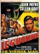 Kansas City Confidential - Belgian Movie Poster (xs thumbnail)