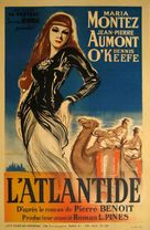 Siren of Atlantis - French Movie Poster (xs thumbnail)