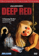Profondo rosso - DVD movie cover (xs thumbnail)