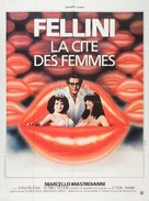 La città delle donne - French Movie Poster (xs thumbnail)