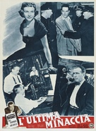 Deadline - U.S.A. - Italian Movie Poster (xs thumbnail)