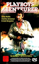 The Adventurers - German VHS movie cover (xs thumbnail)