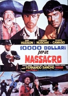 10.000 dollari per un massacro - Italian Movie Poster (xs thumbnail)