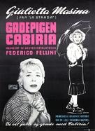 Le notti di Cabiria - Danish Movie Poster (xs thumbnail)