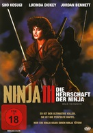 Ninja III: The Domination - German DVD cover (xs thumbnail)