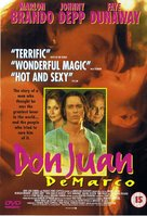Don Juan DeMarco - British DVD movie cover (xs thumbnail)
