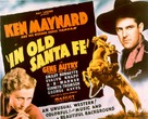 In Old Santa Fe - Movie Poster (xs thumbnail)