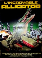 Alligator - French Movie Poster (xs thumbnail)
