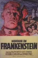 The Horror of Frankenstein - Movie Poster (xs thumbnail)