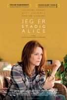 Still Alice - Danish Movie Poster (xs thumbnail)