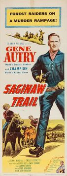 Saginaw Trail - Movie Poster (xs thumbnail)