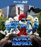 The Smurfs - Hungarian Blu-Ray cover (xs thumbnail)